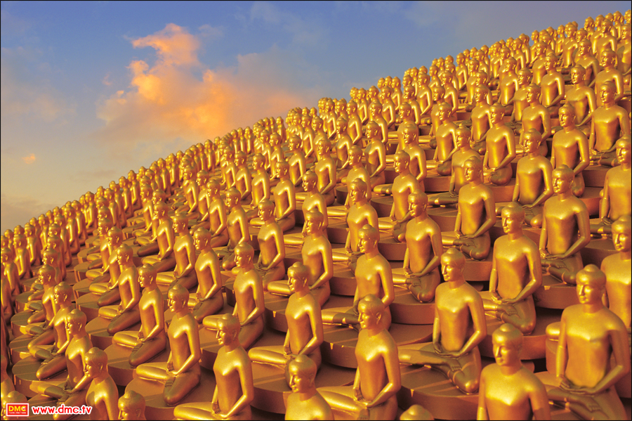 The Casting of Personal Dhammakaya Images