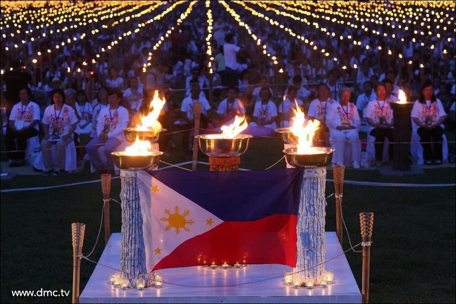 The Light of PEACE in Philippines