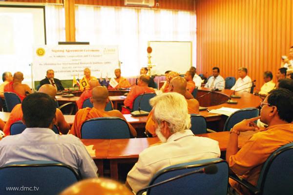 ความร่วมมือทางวิชาการของสถาบันดีรีกับมหาวิทยาลัยเคลานียา ประเทศศรีลังกา