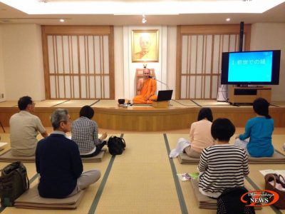 Meditation Class for Locals // Thai Buddhist Meditation Center in Tokyo, Japan