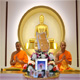 Wat Phra Dhammakaya Italy arranged the Pubbapeta Bali Ceremony