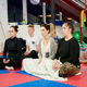 Meditation Session for locals at Boxing camp, France