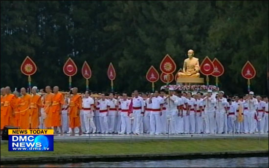 Dhammakaya Temple arranged the Great Master Day of Vijja Dhammakaya