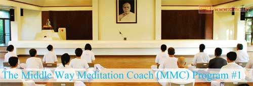 The Middle Way Meditation Coach Training Program