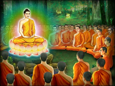 To want to join the Buddha's tradition, and practice strictly according the the Buddha's Teaching.