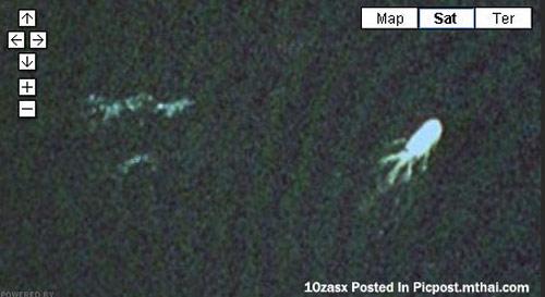 กูเกิ้ลจับภาพเนสซี่(สัตว์ประหลาดในตำนาน) ทะเลสาบล็อคเนส