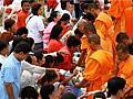 พิธีตักบาตรพระ 1,250 รูป จังหวัดบุรีรัมย์