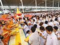 พิธีบูชาครูวิชชาธรรมกาย 12 กันยายน 2554