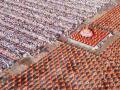 พิธีตักบาตรฉลองพระใหม่ 5,000 รูป รุ่นบูชาธรรมมหาปูชนียาจารย์ปี พ.ศ.2562